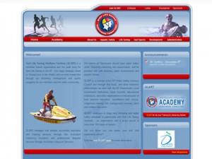 Surf Life Saving Nothern Territory Website Screen Shot