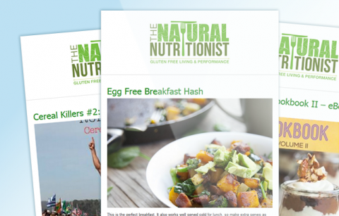 The Natural Nutritionist – RSS MailChimp Template
