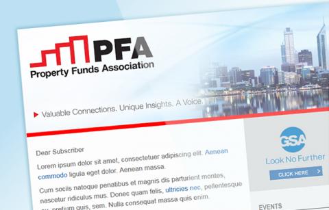 PFA – MailChimp Template