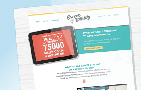 Career Vitality – WordPress Site