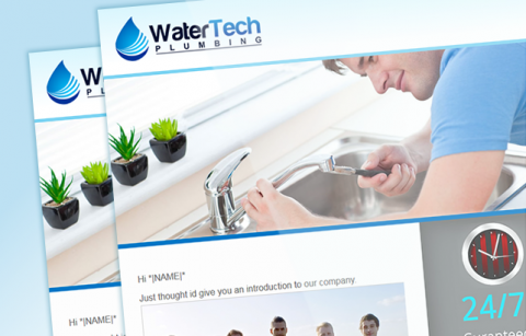 WaterTech Plumbing – MailChimp Template