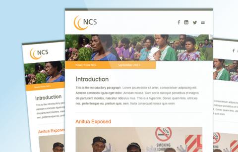 NCS – MailChimp Template