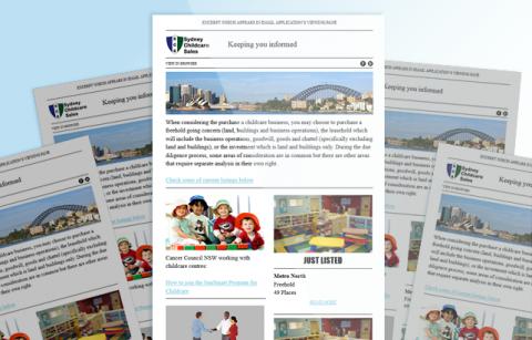 Sydney Childcare Sales – MailChimp Template