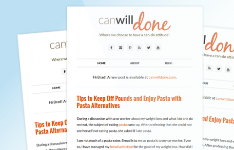 MailChimp Template – canwillDONE