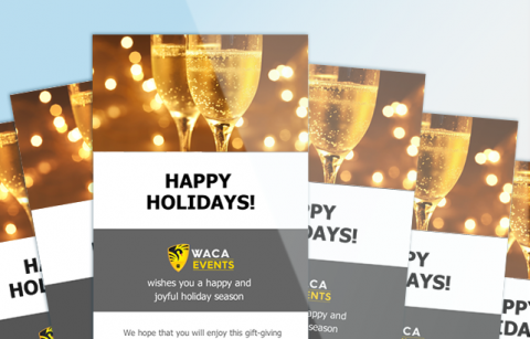 WACA – Holiday eCard – MailChimp Template