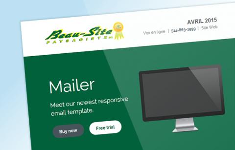 Beau-Site MailChimp Template