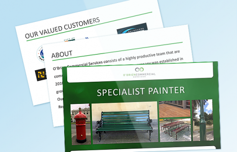 Specialist Painter  – PowerPoint Presentation