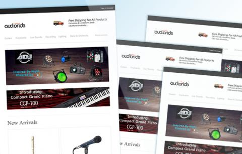 Audioride – MailChimp Template