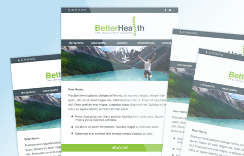 Better Health Practice – MailChimp Template