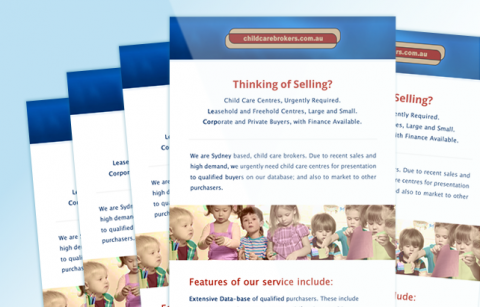 Childcare Brokers – MailChimp Template