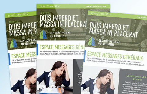 InfoLettre – MailChimp Template