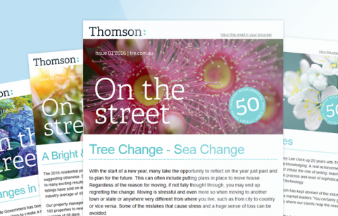 Thomson Real Estate – 2016 MailChimp Templates