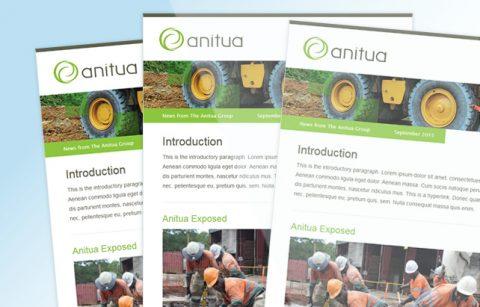 Anitua – MailChimp Template