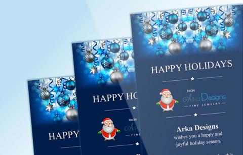 Arka –  Christmas eCard – MailChimp Template