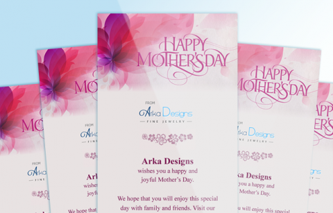 Arka – Mother's Day eCard – MailChimp Template