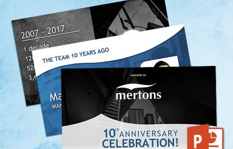 Mertons 10th Anniversary – PowerPoint Presentation