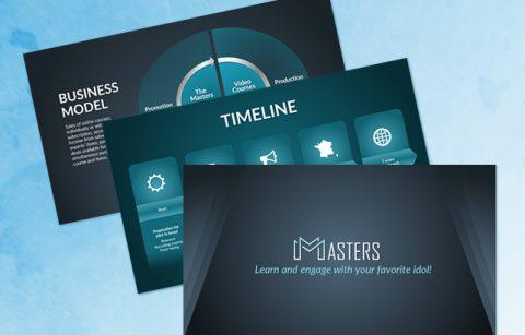 Masters Pitch Deck – PowerPoint Presentation