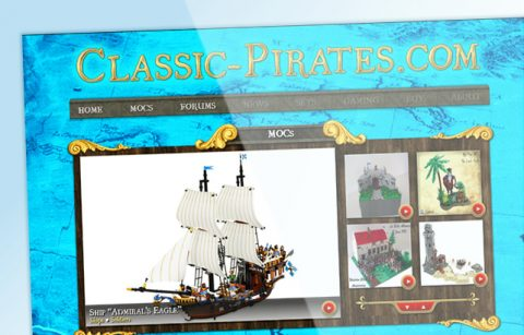 Classic-Pirates.com | WordPress Website
