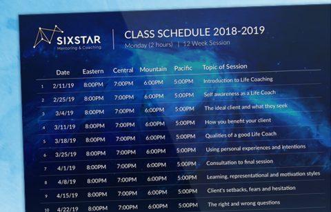 Sixstar – Class Schedule – PDF