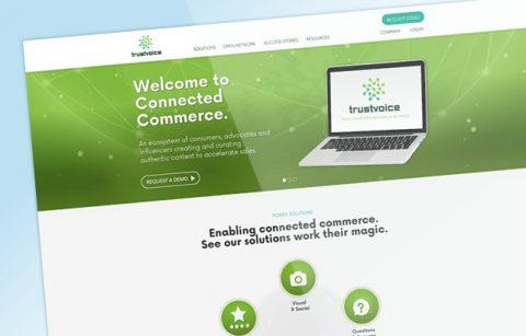 TrustVoice – UX/UI Design – Homepage