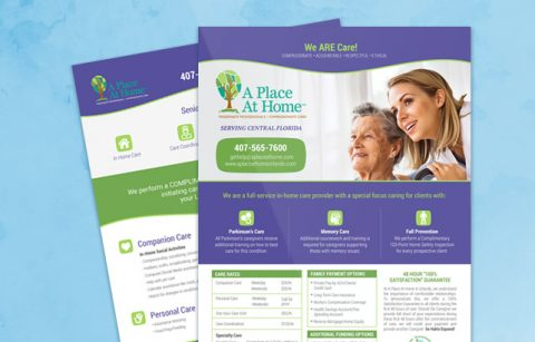 A Place At Home – Sell Sheet – PDF