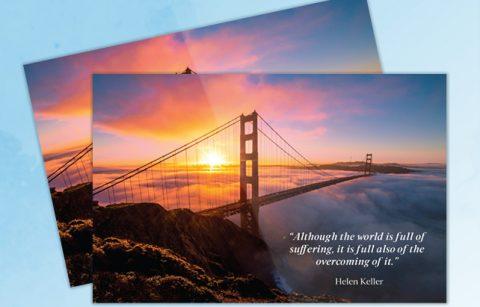 Hoffman Real Estate – Inspirational Postcard