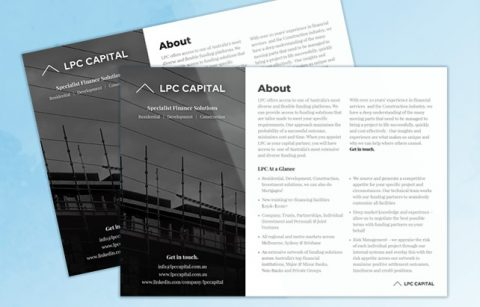 LPC Capital – One Page Brochure