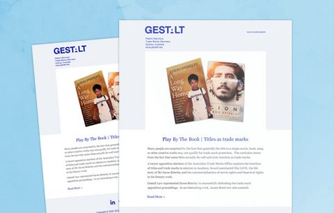 Gestalt Law – MailChimp Template