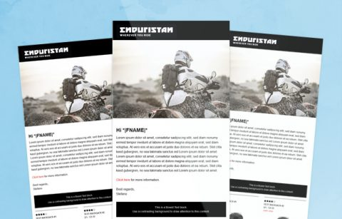MailChimp Template – Endursistan
