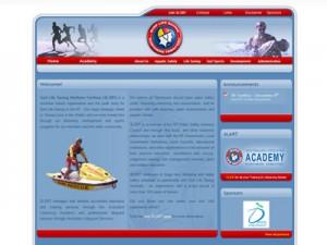 Surf Life Saving Nothern Territory Website Screen Shot