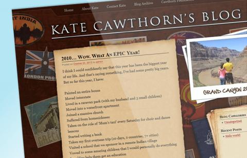 Kate Cawthorn's Travel Blog