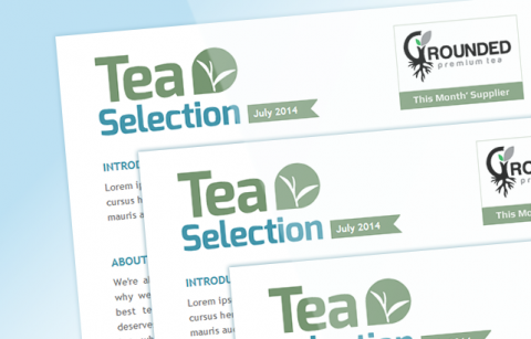 Tea Selection HTML Newsletter