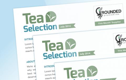 Tea Selection HTML Newsletter