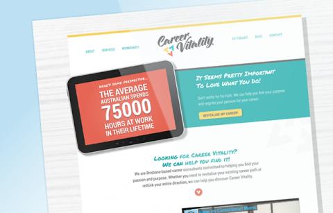 Career Vitality – WordPress Site