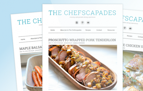 The Chefscapades – RSS MailChimp Template