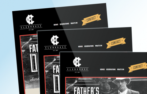 Clubhouse – Fathers Day MailChimp Template