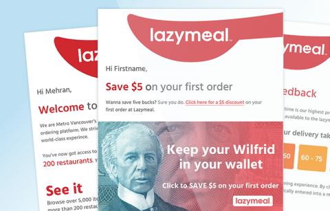 LazyMeal – MailChimp Templates