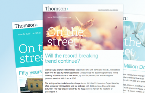 Thomson Real Estate – 2015 MailChimp Templates