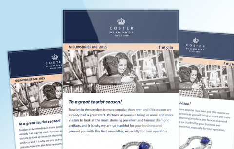 Coster Diamonds – MailChimp Template