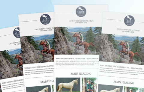 Globetrotting – MailChimp Template