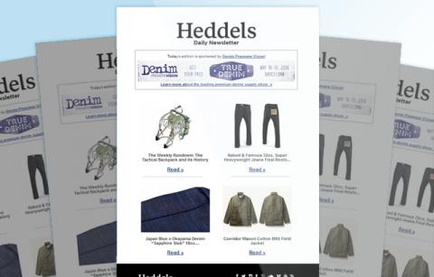 Heddels – RSS – MailChimp Template