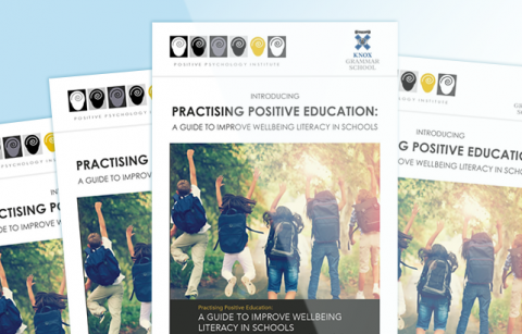 Practising Positive Education – MailChimp Template