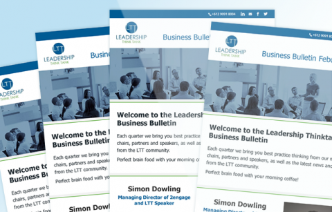 Leadership Think Tank – MailChimp Template