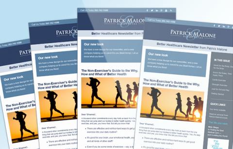 Patrick Malone Law – MailChimp Template