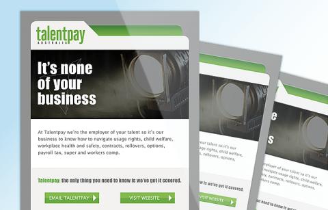 TalentPay – MailChimp Template