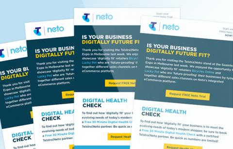 Telstra Neto – MailChimp Template