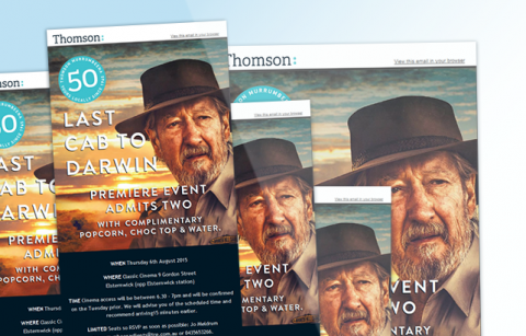 Thomson Movie Night – MailChimp Template