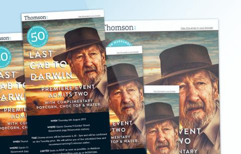 Thomson Movie Night – MailChimp Template