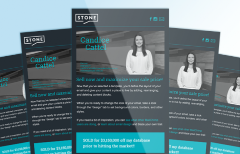 Candice Catell – Stone Real Estate  – MailChimp Template