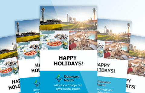 Delaware North – Holiday eCard – MailChimp Template